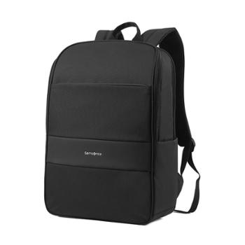 samsonite新秀丽大容量舒适男士旅行背包新品商务通勤笔记本电脑包TQ3黑色