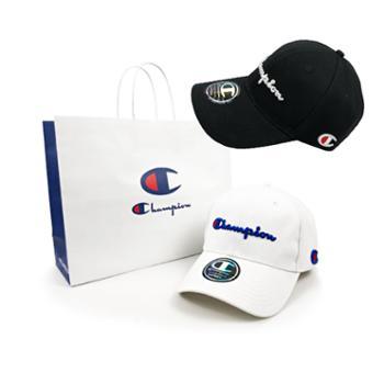 Champion冠军潮牌男女同款休闲经典logo字母鸭舌帽棒球帽