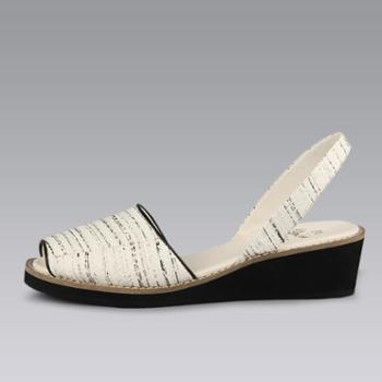 YellowEarth耶鲁氏坡跟凉鞋LC089
