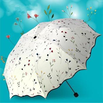 超大三折晴雨伞,三色可选