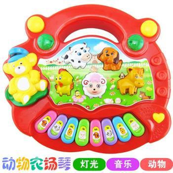 益智早教婴儿玩具琴0-3岁宝宝玩具音乐琴动物农场电子琴儿童