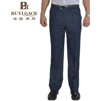 法国拜邦 男士商务单褶经典长西裤FP2B-225 29