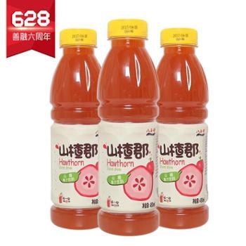 八王寺山楂郡山楂果汁450ml*6瓶/件包邮