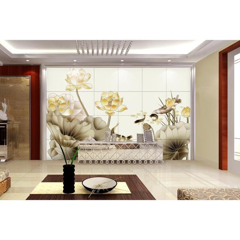 兰田电视背景墙瓷砖壁画