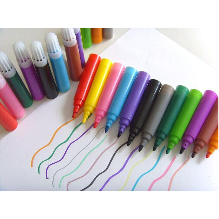 学蜡笔水彩笔组合美术工具图片
