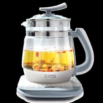 skg8081养生壶全自动加厚玻璃烧水壶多功能黑茶煮茶电热燕窝煮茶