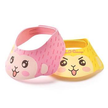 植护宝宝洗头帽可调节带护耳洗发帽儿童浴帽婴儿洗澡帽防水帽