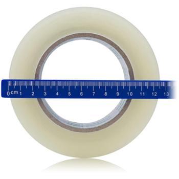 1卷deli得力胶带48mm*150y超长透明封箱胶带30207快递打包封箱带透明胶带