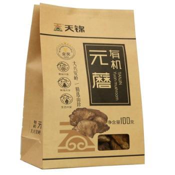 有机纸袋元蘑100g 有机食品 大兴安岭特产
