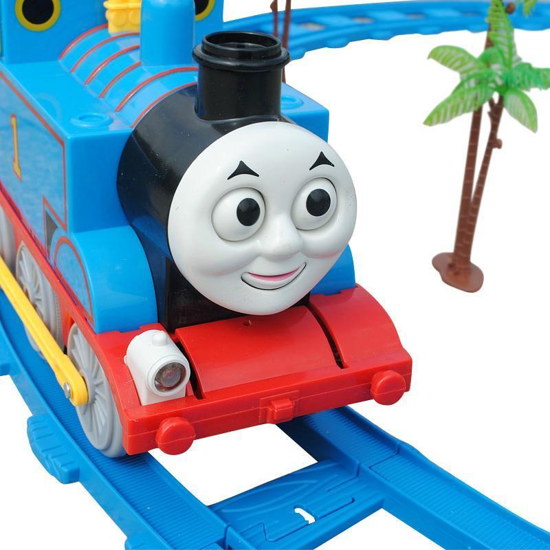 托马斯轨道火车电动玩具 儿童玩具套装 音乐灯光 男宝宝玩具1 3岁