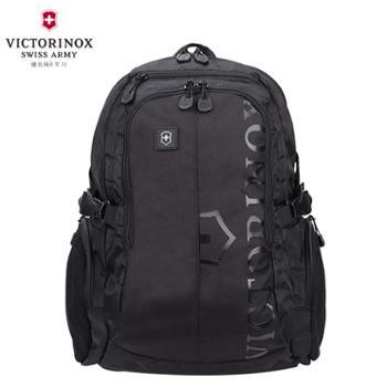 瑞士维氏(VICTORINOX)瑞士军刀商务休闲双肩背包书包电脑包31105201黑色