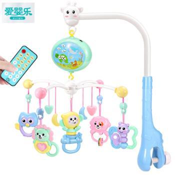 爱婴乐新生婴儿床铃玩具男女宝宝音乐旋转益智摇铃床头铃