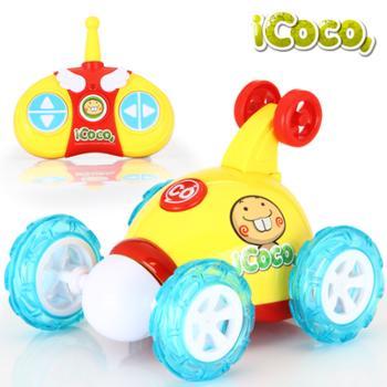 益米特技翻斗车 儿童可充电翻滚特技车电动玩具车遥控车玩具