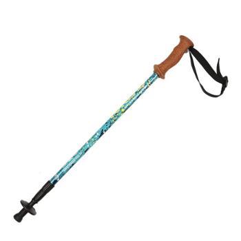 探路者登山拐杖BS旋转系统户外通用三节登山杖