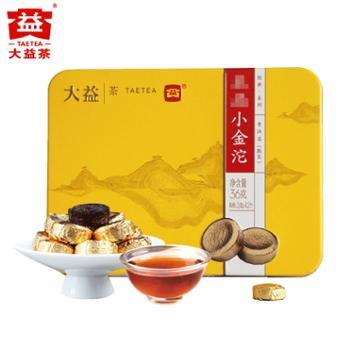 大益普洱熟茶小金沱36g/盒迷你沱茶