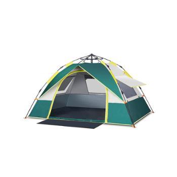 探险者帐篷户外野营加厚全自动露营防暴雨野外2单人帐蓬3-4人家用