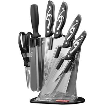 十八子作菜刀套装家用全套组合刀具套装厨房不锈钢套刀厨具切片刀