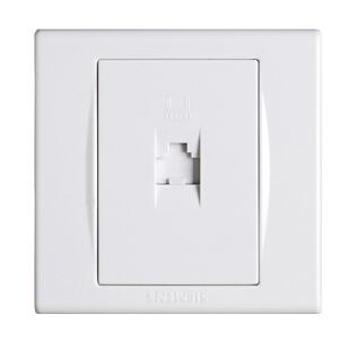 西门子 电脑插座 品宜系列 白色
