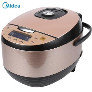 美的(Midea)电饭煲家用智能电饭锅多功能可预约IH大火力加热设计机身RS4091