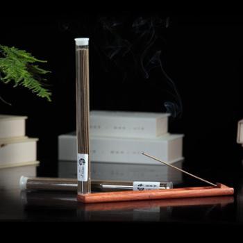 除障艾草香天然线香21CM透明管装三年陈艾卧香沉香熏香道