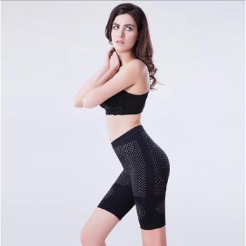 包邮 功能性塑身裤 自发热高腰裤 磁疗燃脂远红外瘦身裤 提臀平角裤