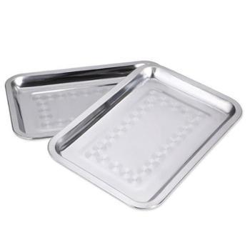 原始人烧烤不锈钢食物盘食物碟烧烤食物盘