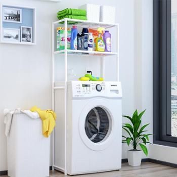 索尔诺浴室洗衣机置物架 卫生间马桶架厕所整理架落地收纳层架子