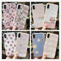 苹果手机壳彩绘浮雕软壳iphone7 plus粉边tpu 硅胶创意清新