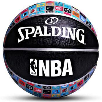 斯伯丁篮球7号lanqiu学生室内室外成人NBA水泥地耐磨比赛礼物