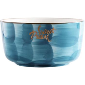 创意个性餐具套装碗盘子家用碗碟北欧网红ins情侣2人陶瓷碗筷4人