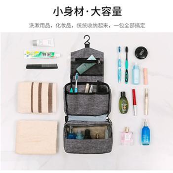 差旅环保4件套:洁玉纯棉毛巾1条,小麦秸秆牙具盒1支,小麦秸秆软毛牙刷1支,大容量防水便携洗漱包1个 [美浴优选]