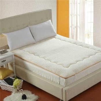 新正品包邮羊羔绒床垫榻榻米可折叠软加厚双人褥子YC20140016 A-2