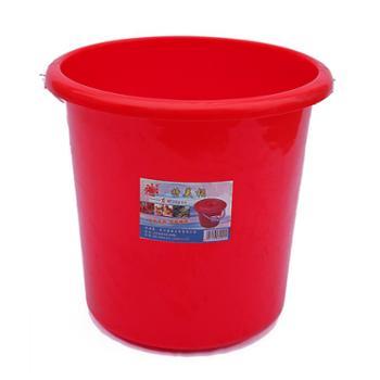武汉东林塑料铁把拎水桶耐摔加厚储水桶清洁保洁034型桶