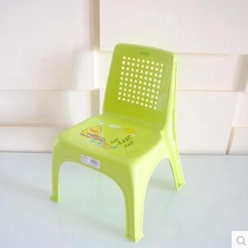东林 儿童塑料靠背椅 青色 101