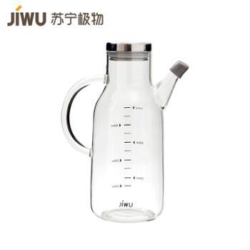 【苏宁极物】高硼硅玻璃油壶550ml