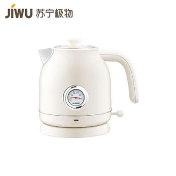【苏宁极物】圈厨复古电热水壶自动断电家用复古烧水壶