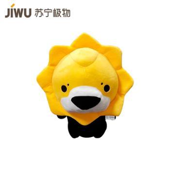 【苏宁极物】苏格拉宁小狮子毛绒玩偶 黑黄