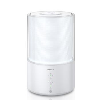 小熊(Bear)加湿器 上加水办公室卧室增湿器 静音香薰机空调加湿器 3升迷你可定时 JSQ-B30L1白色