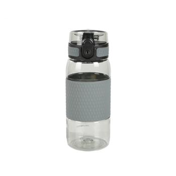 苏宁极物 Tritan隔热运动水杯380ml 冷灰色