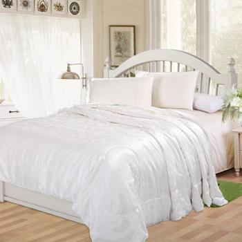 凯诗风尚 蚕丝被 亲肤典雅桑蚕丝被 春秋空调被 双人床上用品