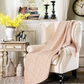 【善融爱家节】凯诗风尚全棉四层纱布盖毯 双面棉亲肤柔软透气空调盖毯150*200cm
