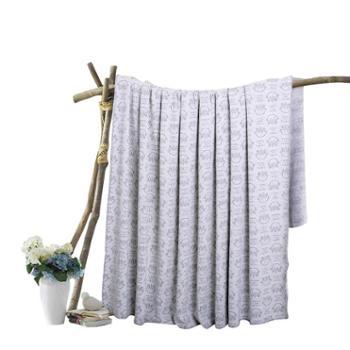 凯诗风尚针织提花盖毯盖被柔软舒适