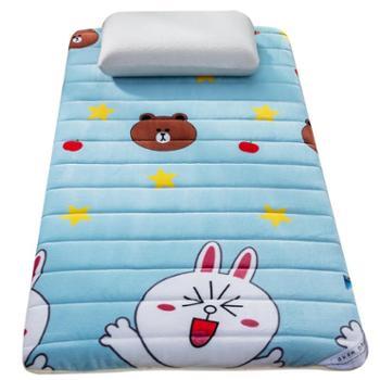 凯诗风尚学生宝宝绒卡通床垫厚6cm