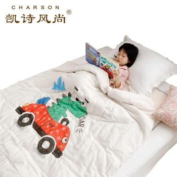 凯诗风尚大版卡通有机棉花被2斤/3斤/4.5斤儿童床冬被幼儿园学生被芯
