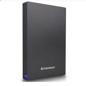 联想移动硬盘F309 USB3.0 2T 2000G高速2.5英寸 商务硬盘