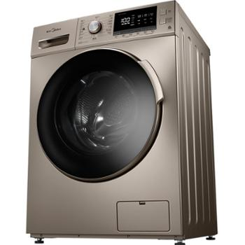 美的MD100-1431DG10公斤洗烘一体洗衣机变频全自动滚筒