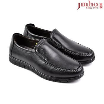 金猴皮鞋男鞋秋冬新款真皮男单鞋250688A
