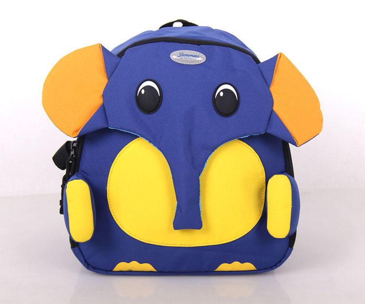 samsonite大象儿童包卡通包书包中号双肩背包u22*026