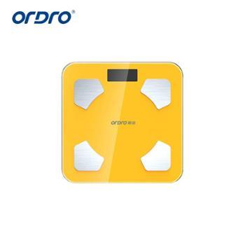 Ordro欧达智能体脂秤精准体重蓝牙脂肪秤家用秤健康电子称