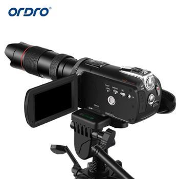 欧达ordroTX-13摄像机配件望远镜12倍12X单筒镜头